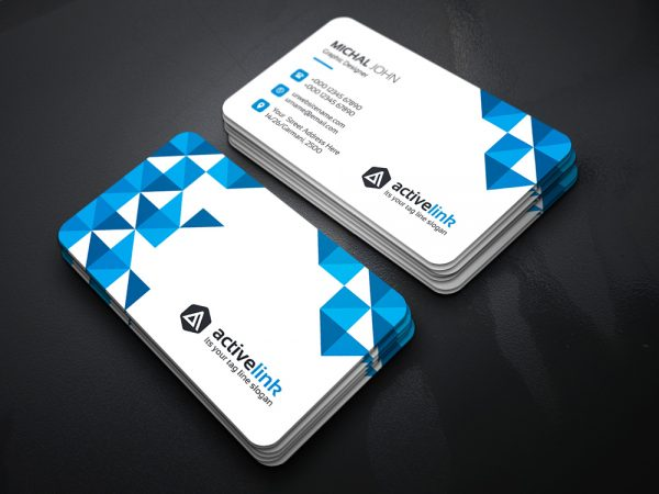 Activelink Business Card Template