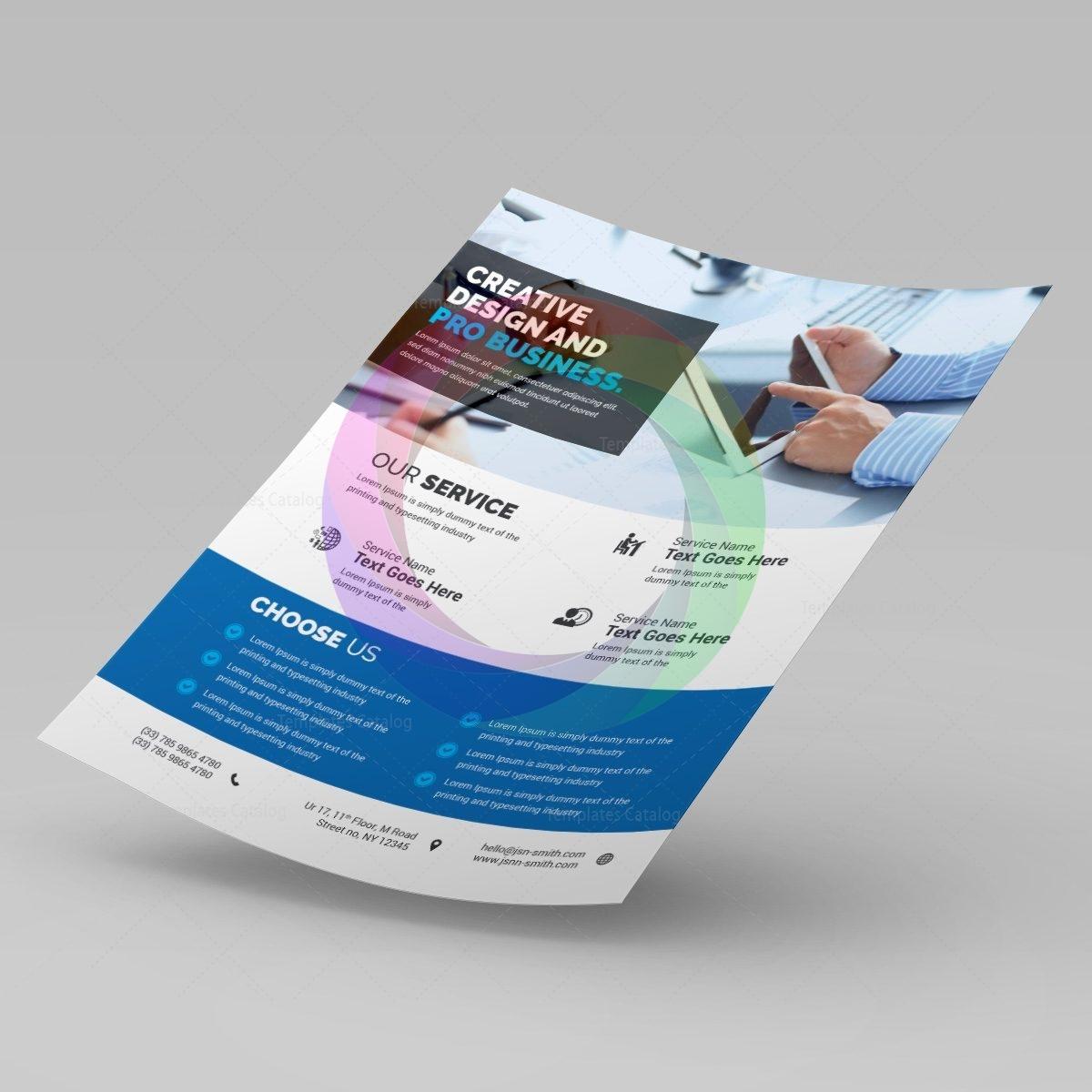 Elegant Corporate Flyer Graphic Templates