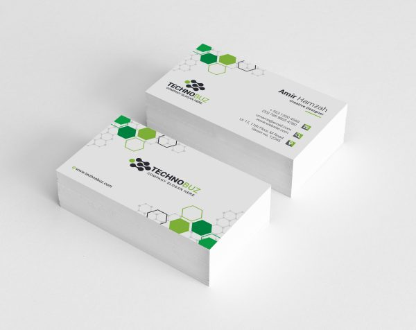 Honeycomb Corporate Business Card Template