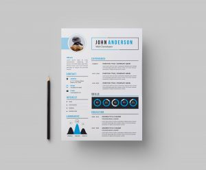 Stylish CV Design Template