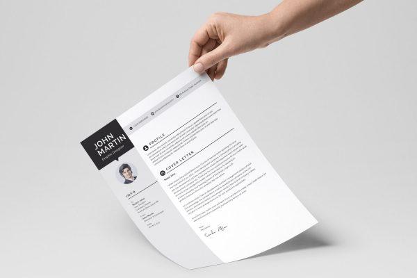 Minimalist CV Design Templates