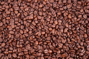 Texture of coffee beans image